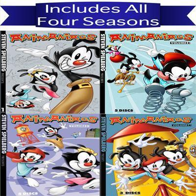 Animaniacs:Vol 2 (DVD) : Target |Animaniacs Dvd Menu