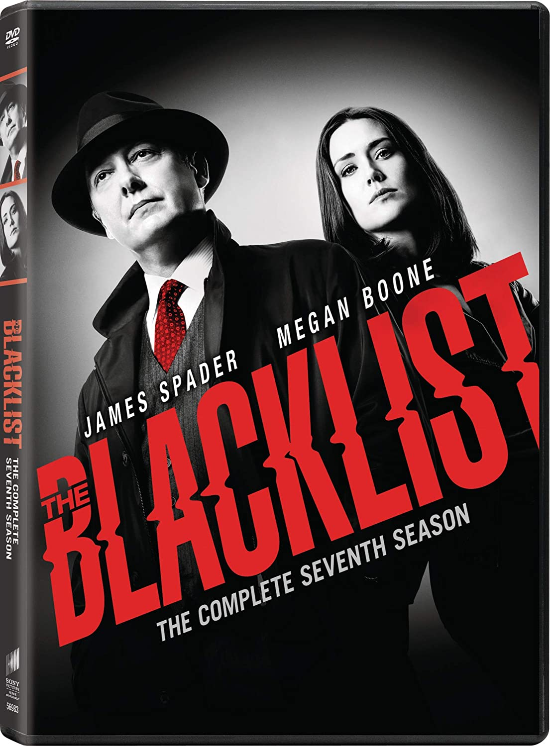 Blacklist Season 7 DVD Sony DVDs & Blu-ray Discs