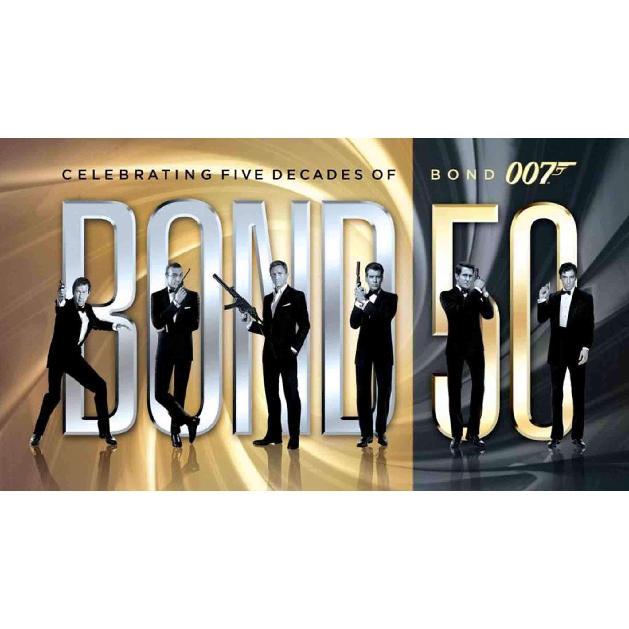 Bond 50 Complete James Bond DVD Box Set Includes all 23 Movies MGM DVDs & Blu-ray Discs > DVDs > Box Sets