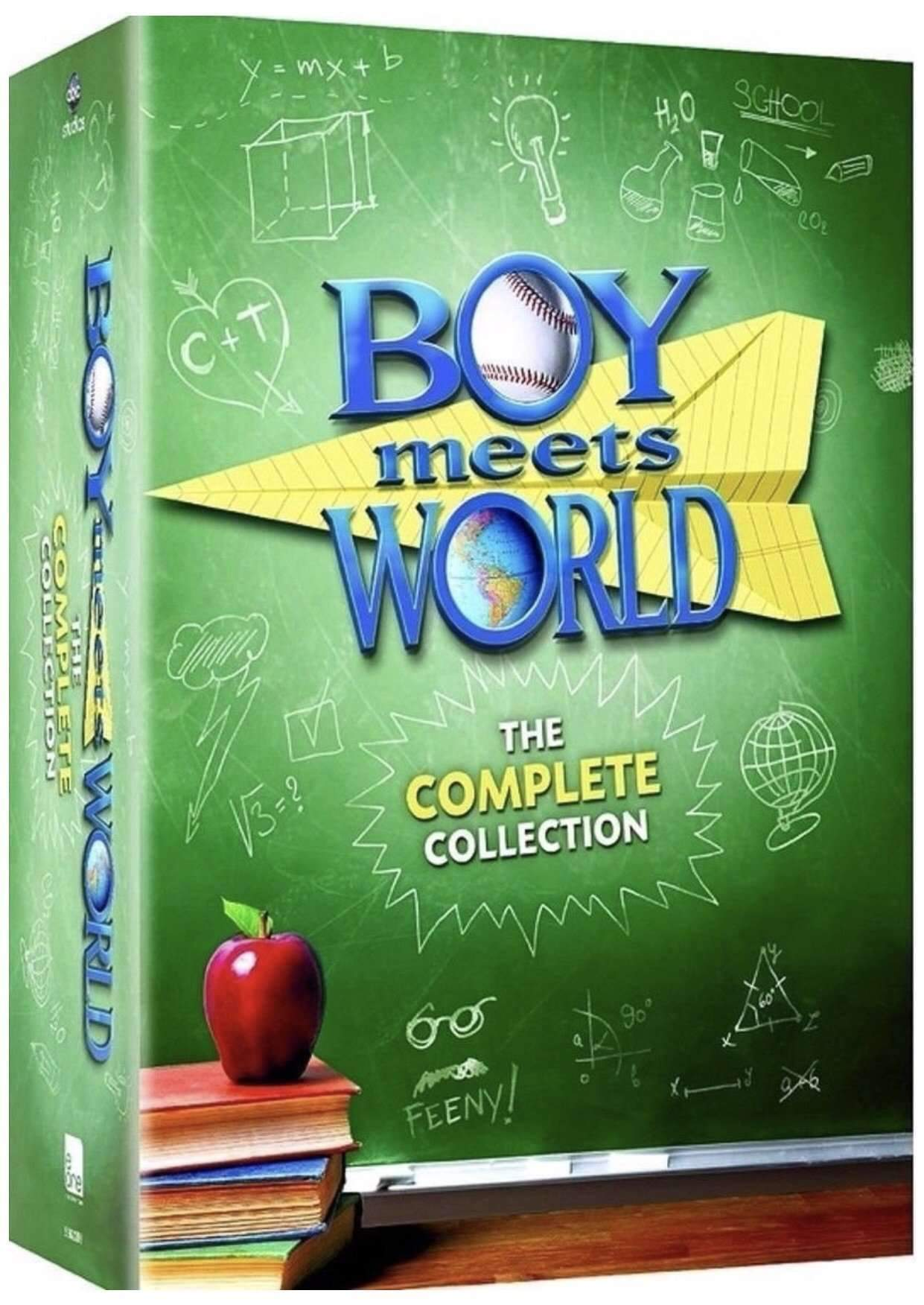 Boy Meets World DVD Complete Series Box Set Lionsgate DVDs & Blu-ray Discs