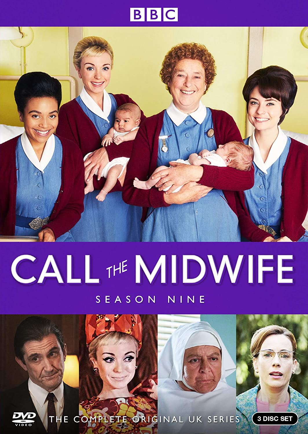 Call the Midwife Season 9 DVD BBC America DVDs & Blu-ray Discs