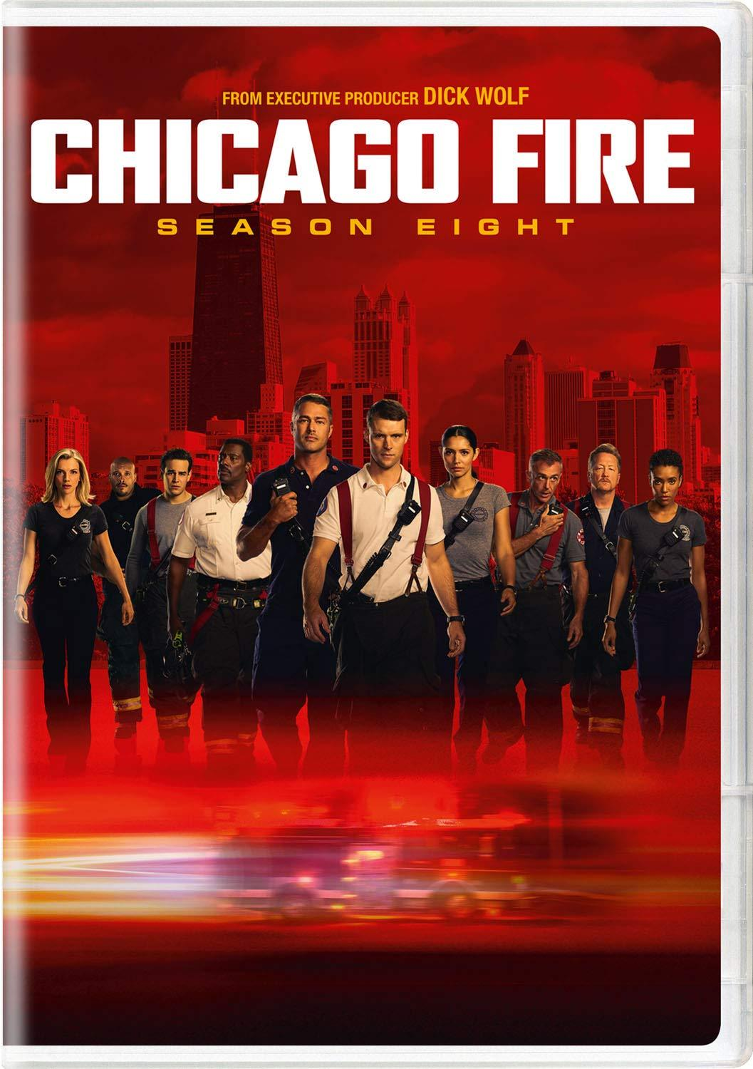 Chicago Fire Season 8 DVD Universal Studios DVDs & Blu-ray Discs