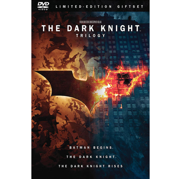 The Dark Knight Trilogy (Batman Begins / The Dark Knight / The Dark Knight Rises) (DVD) - DVDsHQ