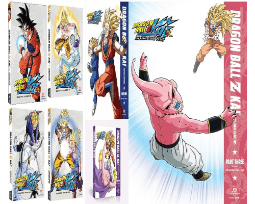 Dragon Ball Z Kai TV Series Seasons 1-7 DVD Set Funimation DVDs & Blu-ray Discs > DVDs