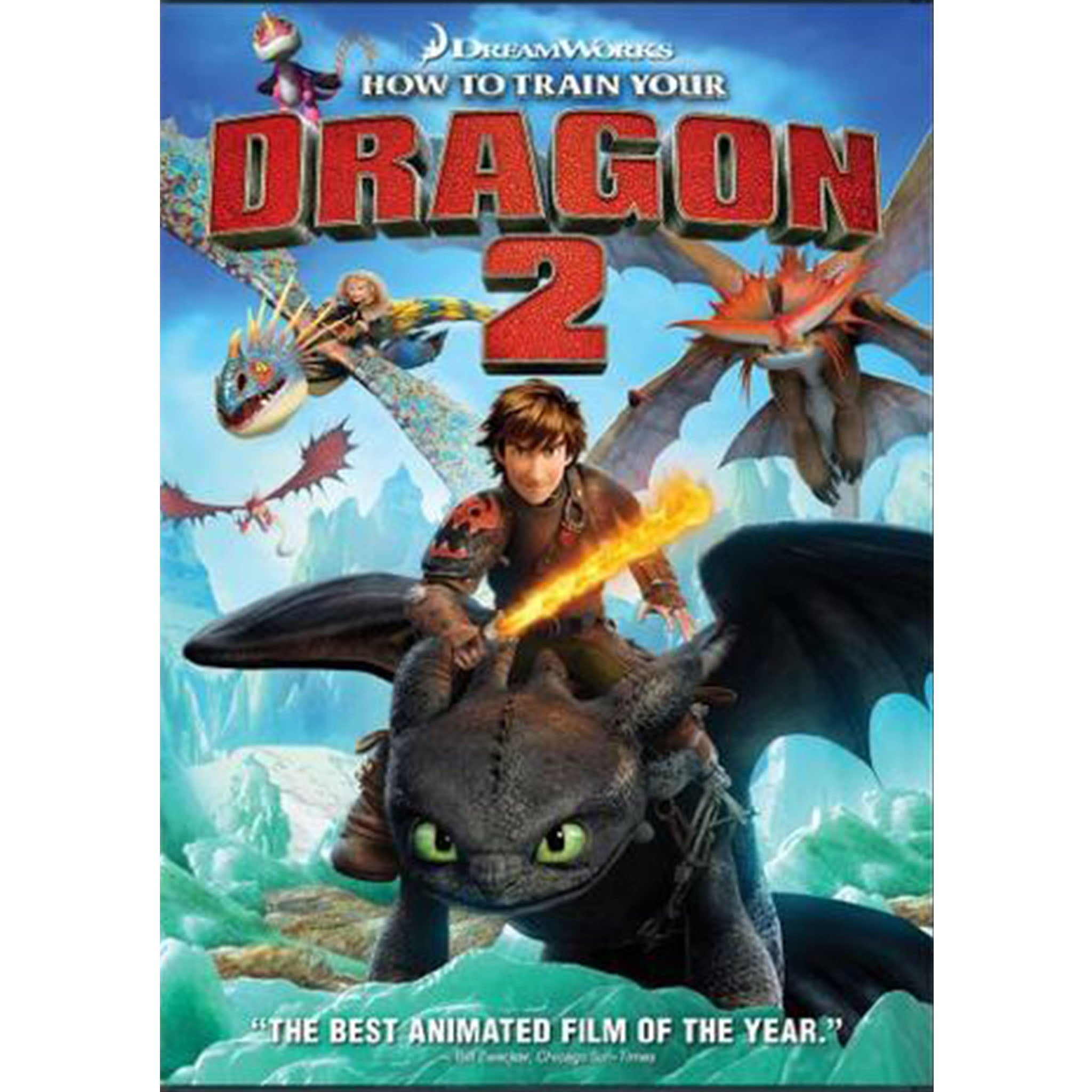 How to Train Your Dragon 2 (DVD) - DVDsHQ