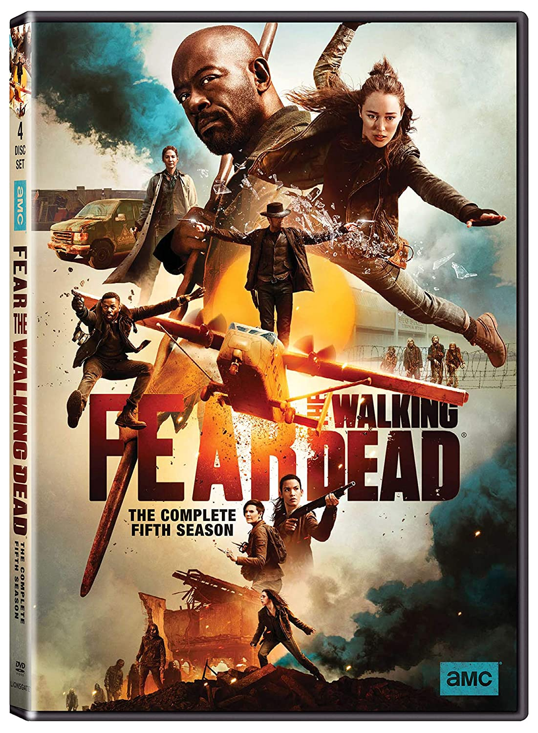 Fear The Walking Dead Season 5 DVD AMC DVDs & Blu-ray Discs