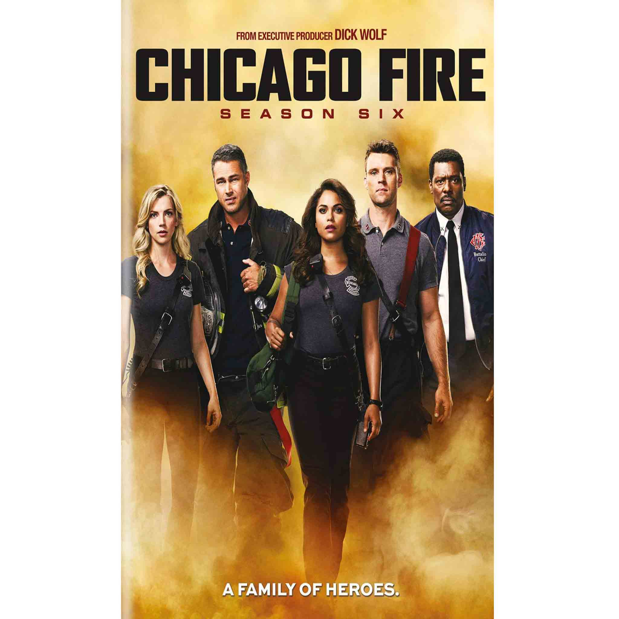 Chicago Fire Season 6 (DVD) - DVDsHQ