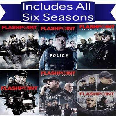 Flashpoint DVD Seasons 1-6 Complete Series Set Paramount Home Entertainment DVDs & Blu-ray Discs > DVDs
