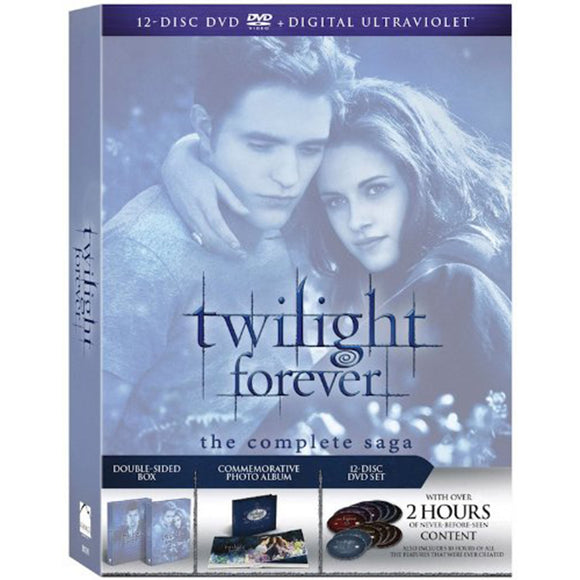Twilight Forever: The Complete Saga Box Set (DVD) - DVDsHQ