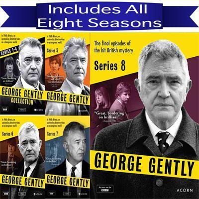 George Gently DVD Seasons 1-8 Set Acorn Media DVDs & Blu-ray Discs > DVDs > Box Sets