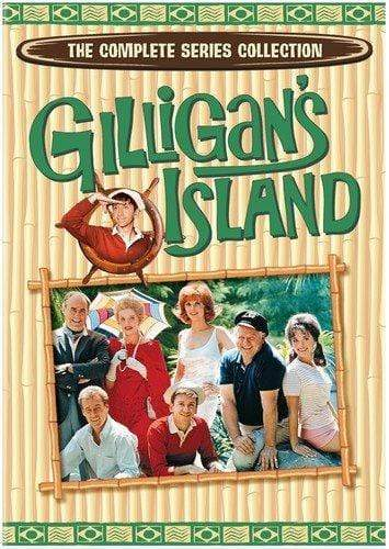 Gilligan's Island: The Complete Series Collection On DVD Warner Brothers DVDs & Blu-ray Discs