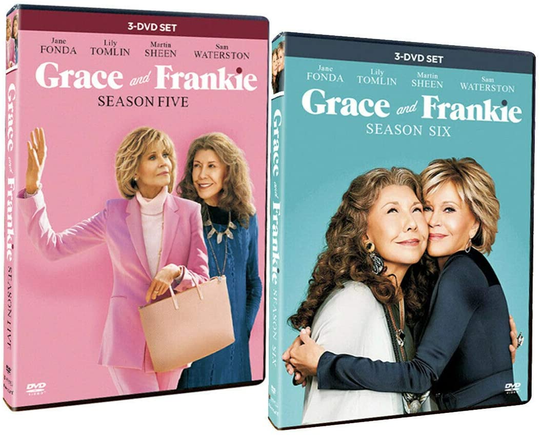 Grace and Frankie Season 5-6 DVD Lionsgate DVDs & Blu-ray Discs