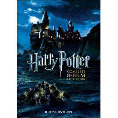 Harry Potter DVD The Complete 8-Film Collection Warner Brothers DVDs & Blu-ray Discs > DVDs > Box Sets
