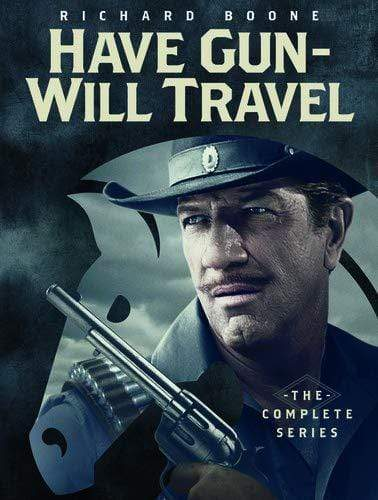 Have Gun Will Travel Complete Series On DVD Paramount Home Entertainment DVDs & Blu-ray Discs