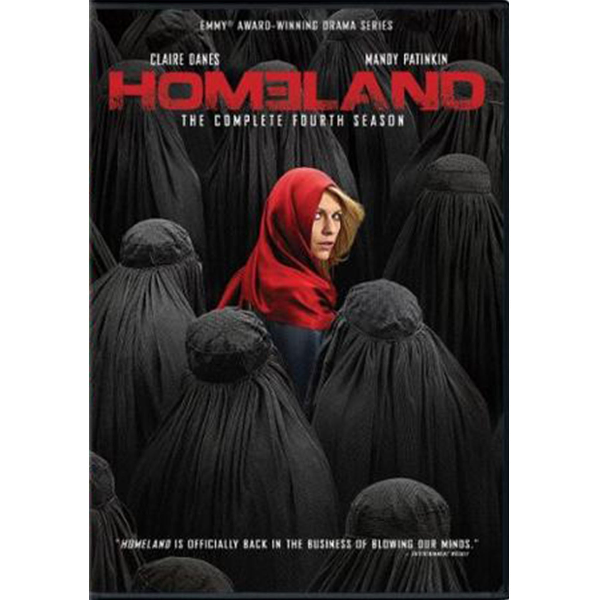 Homeland: Season 4 (DVD) - DVDsHQ