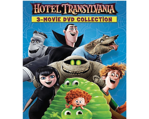 Hotel Transylvania DVD Movies 1-3 Includes All 3 Movies Sony DVDs & Blu-ray Discs