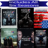 House of Cards DVD Seasons 1-6 Set Sony DVDs & Blu-ray Discs > DVDs