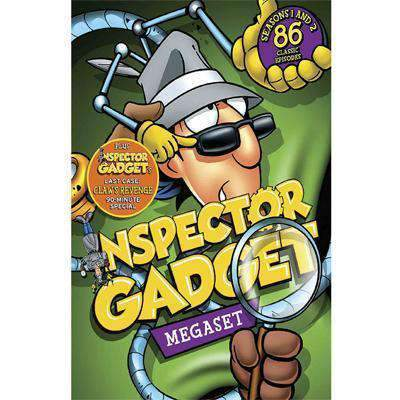 Inspector Gadget DVD Megaset Collection Box Set New Video Group DVDs & Blu-ray Discs > DVDs > Box Sets
