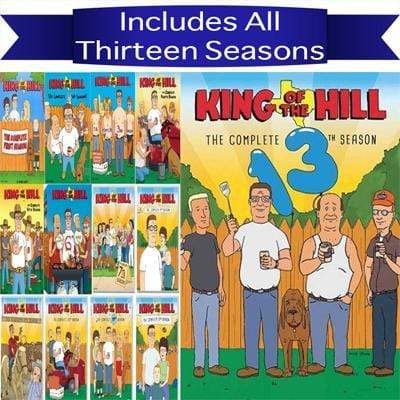 King Of the Hill DVD Seasons 1-13 Set 20th Century Fox DVDs & Blu-ray Discs > DVDs