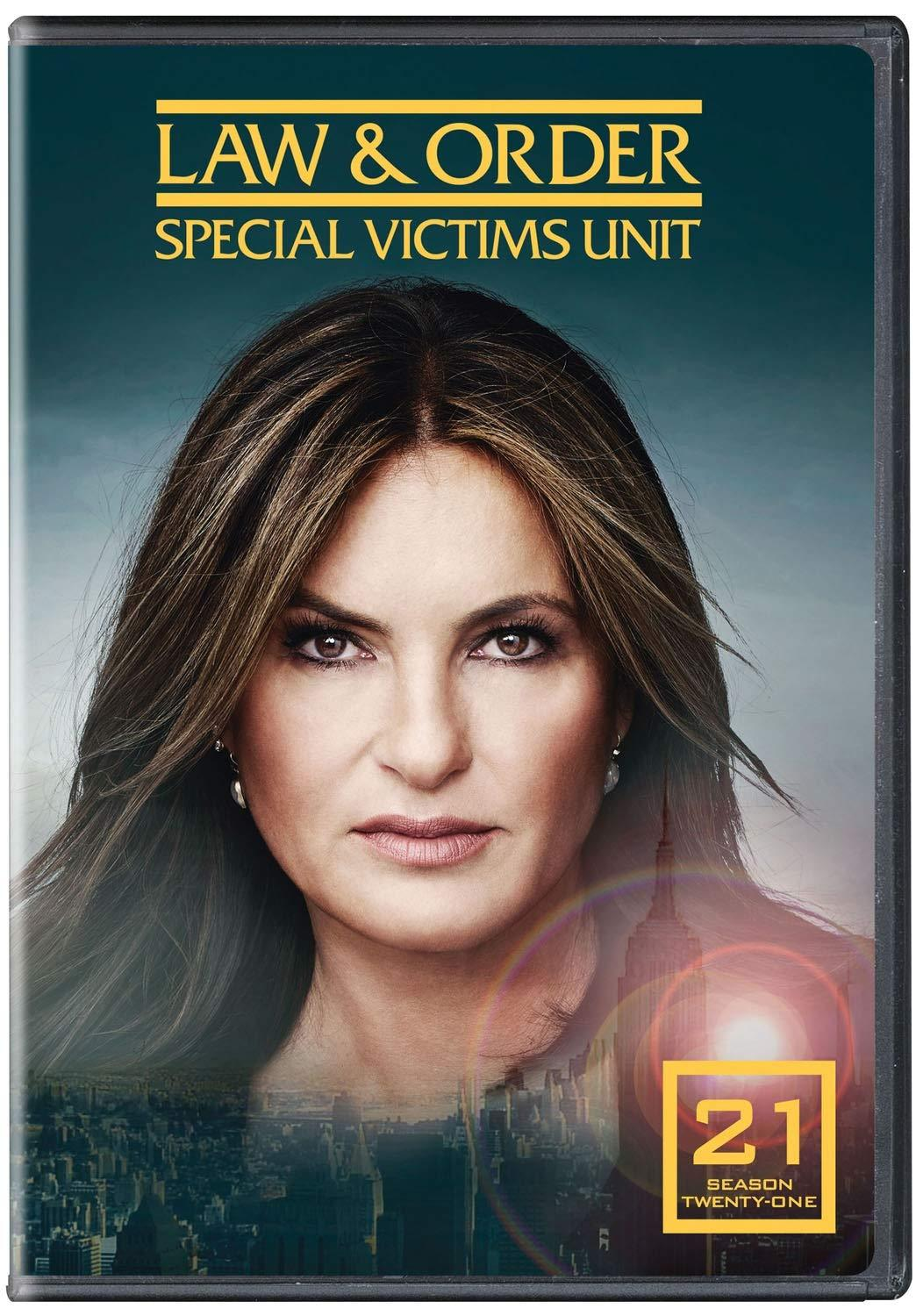 Law and order SVU Season 21 Universal Studios DVDs & Blu-ray Discs