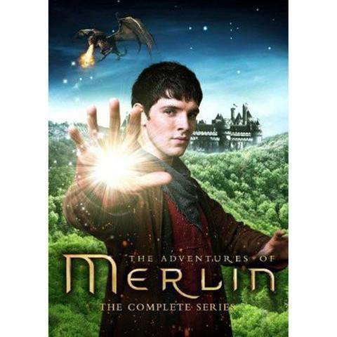 Merlin DVD Complete Series Box Set BBC America DVDs & Blu-ray Discs > DVDs