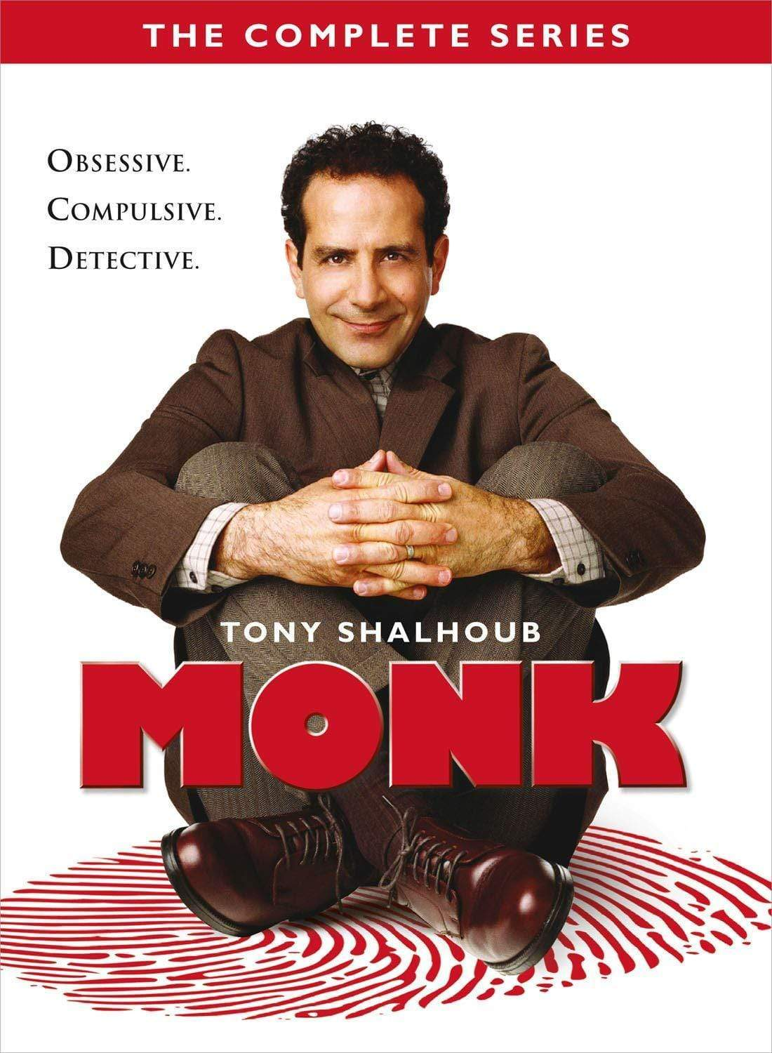 Monk DVD Complete Series Box Set Universal Studios DVDs & Blu-ray Discs > DVDs > Box Sets
