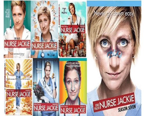 Nurse Jackie TV Series Seasons 1-7 DVD Set Lionsgate DVDs & Blu-ray Discs > DVDs