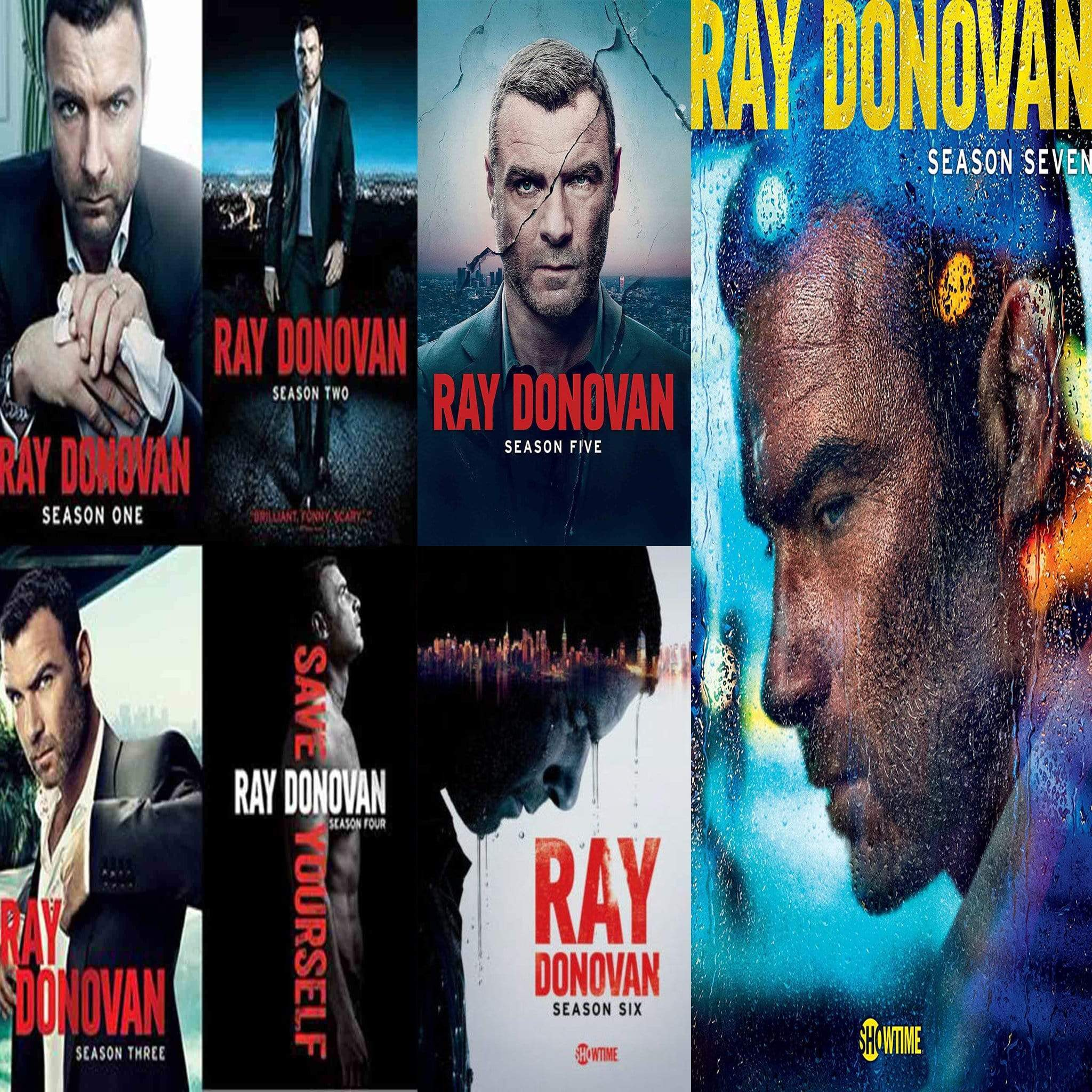 Ray Donovan TV Series Seasons 1-7 DVD Set Paramount Home Entertainment DVDs & Blu-ray Discs > DVDs