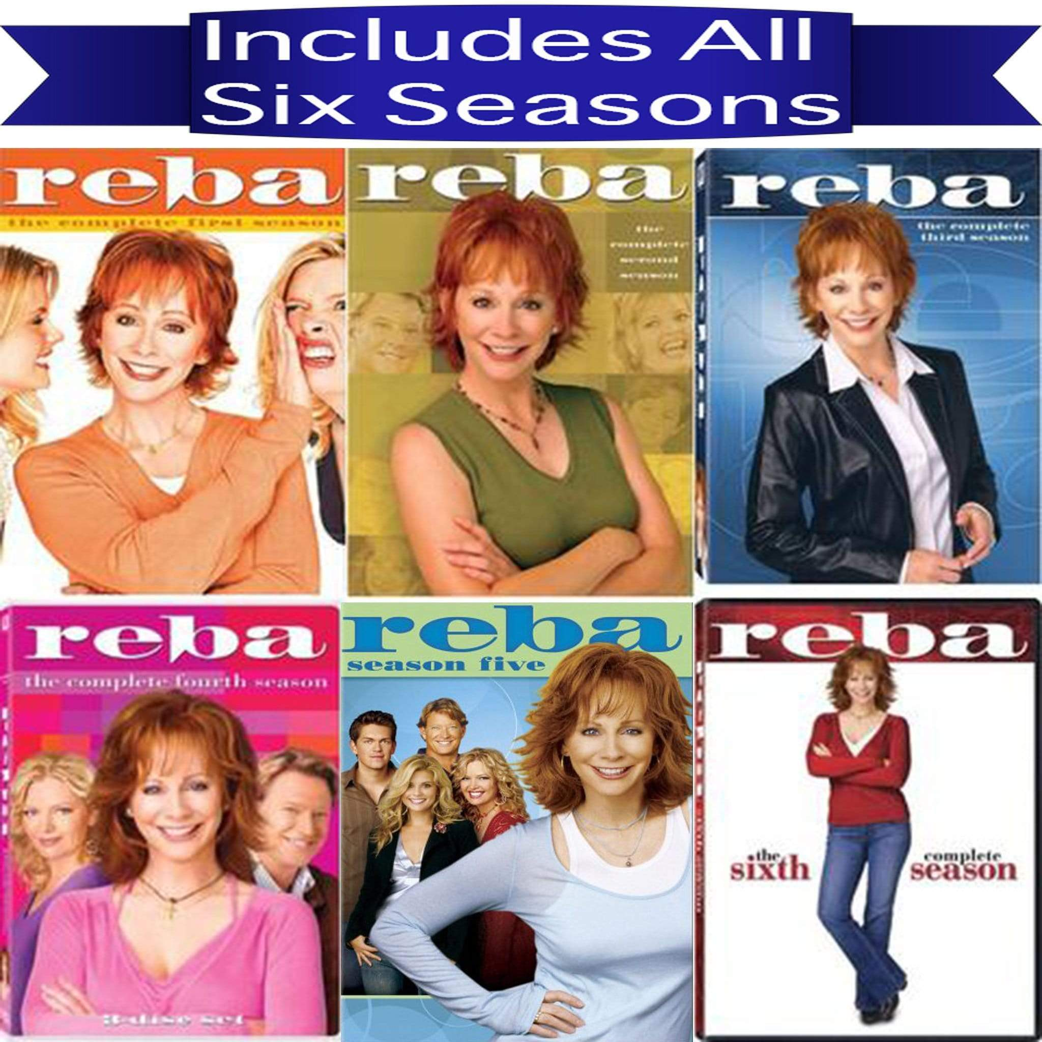 Reba DVD Seasons 1-6 Complete Series Set 20th Century Fox DVDs & Blu-ray Discs > DVDs > Box Sets