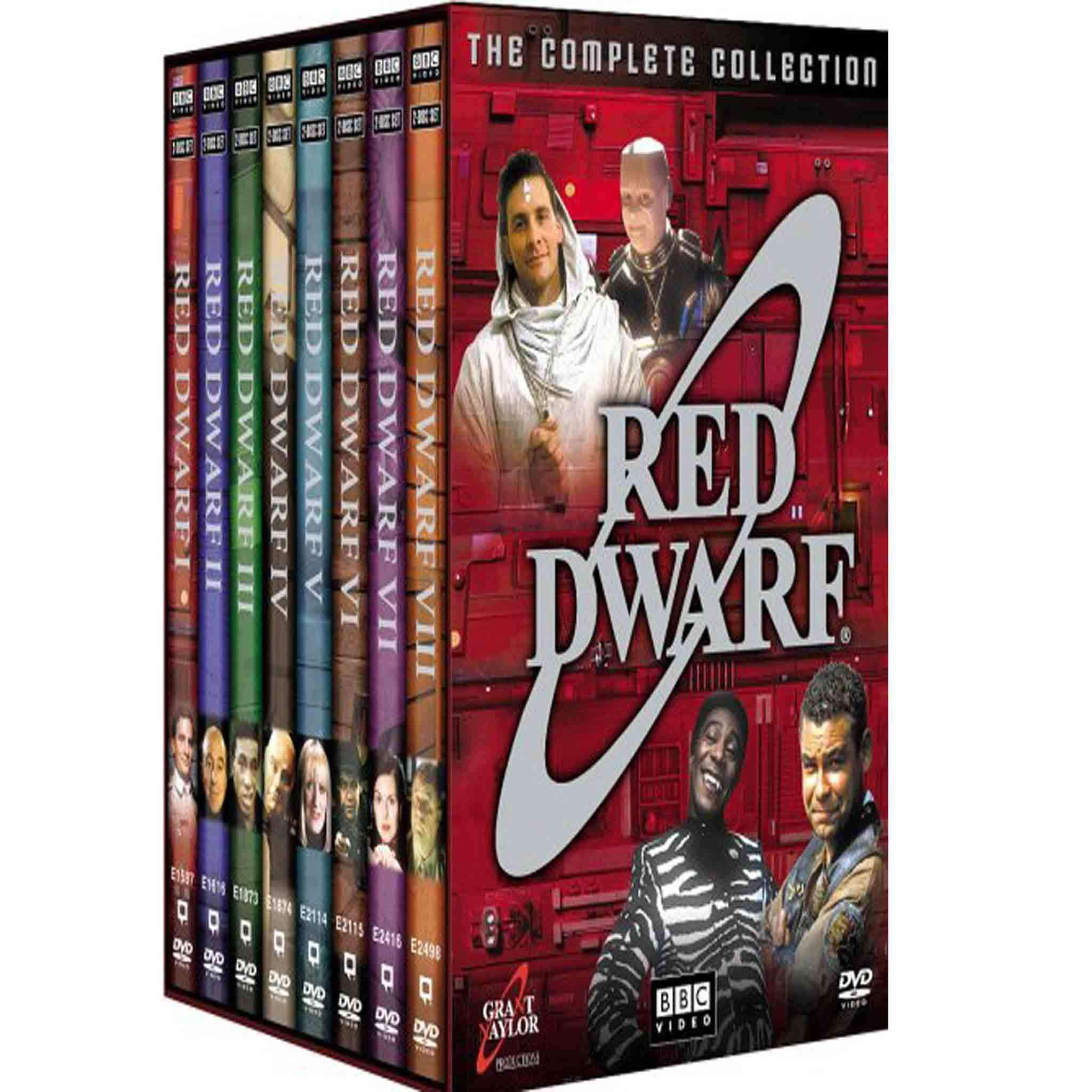 Red Dwarf: The Complete Collection (DVD) BBC America DVDs & Blu-ray Discs > DVDs > Box Sets