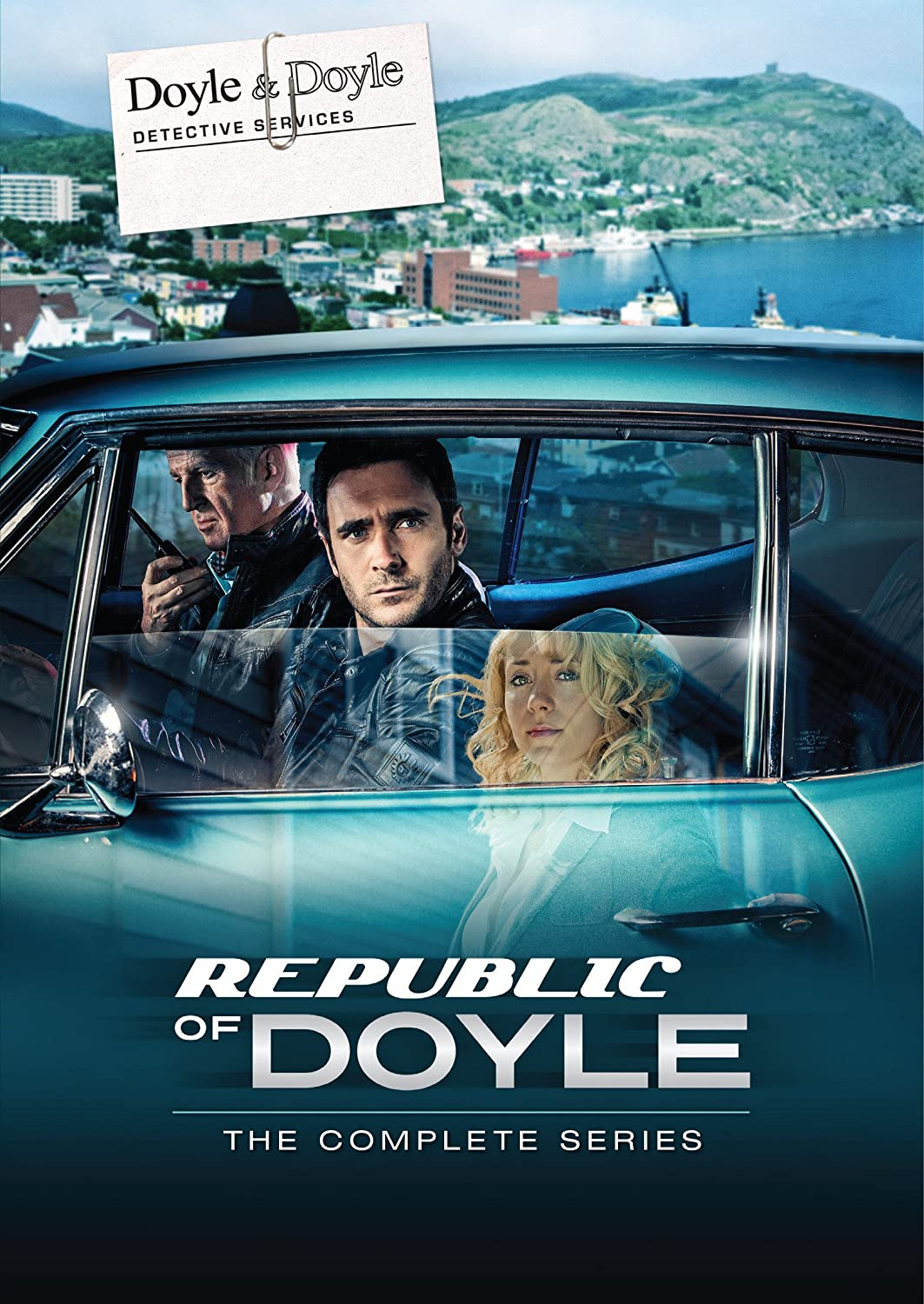 Republic of Doyle Complete Series on DVD eOne Films DVDs & Blu-ray Discs