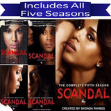 Scandal DVD Seasons 1-5 Set ABC Studios DVDs & Blu-ray Discs > DVDs