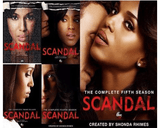 Scandal TV Series Seasons 1-5 DVD Set ABC Studios DVDs & Blu-ray Discs > DVDs