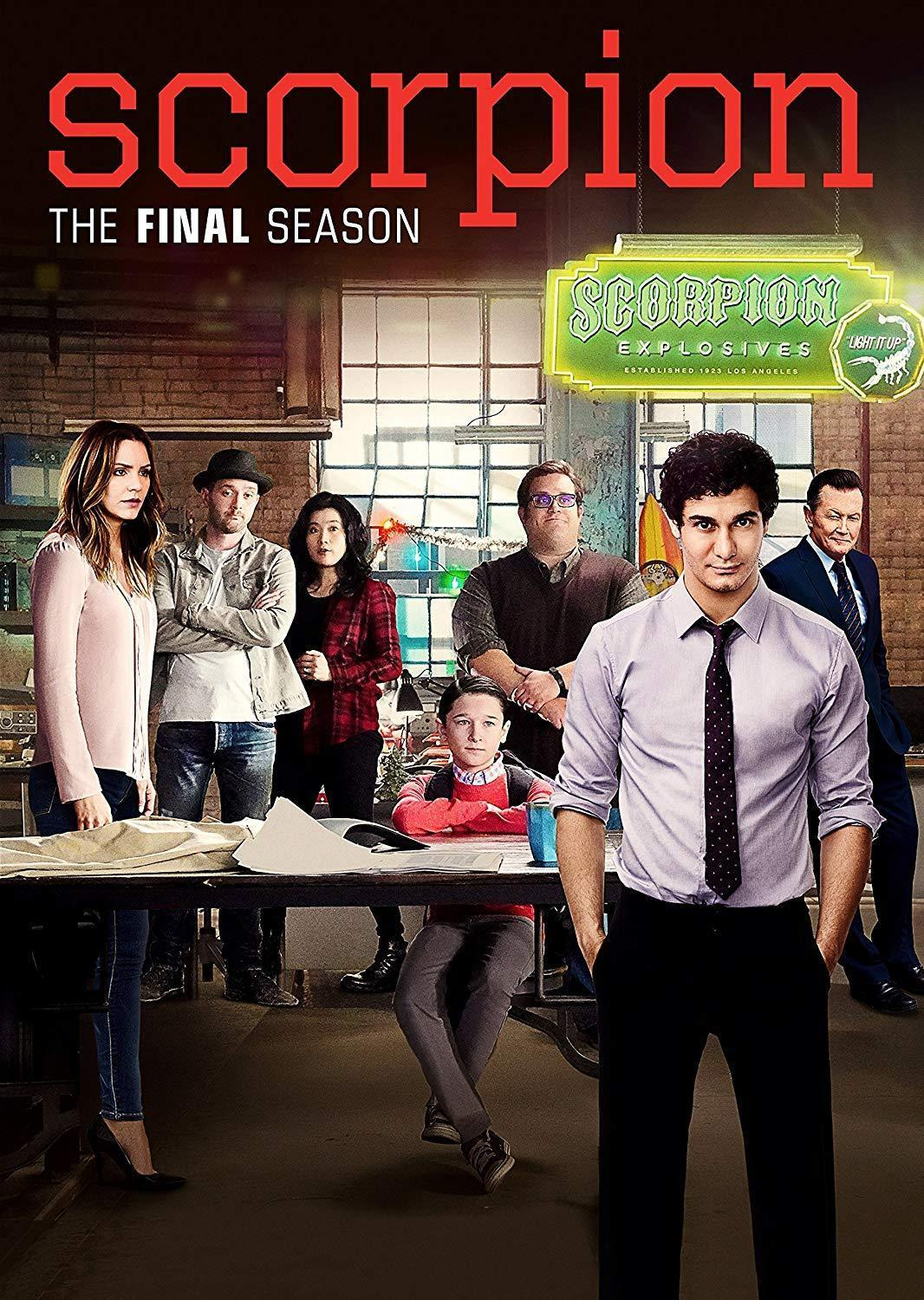 Scorpion Season 4 DVD - DVDsHQ