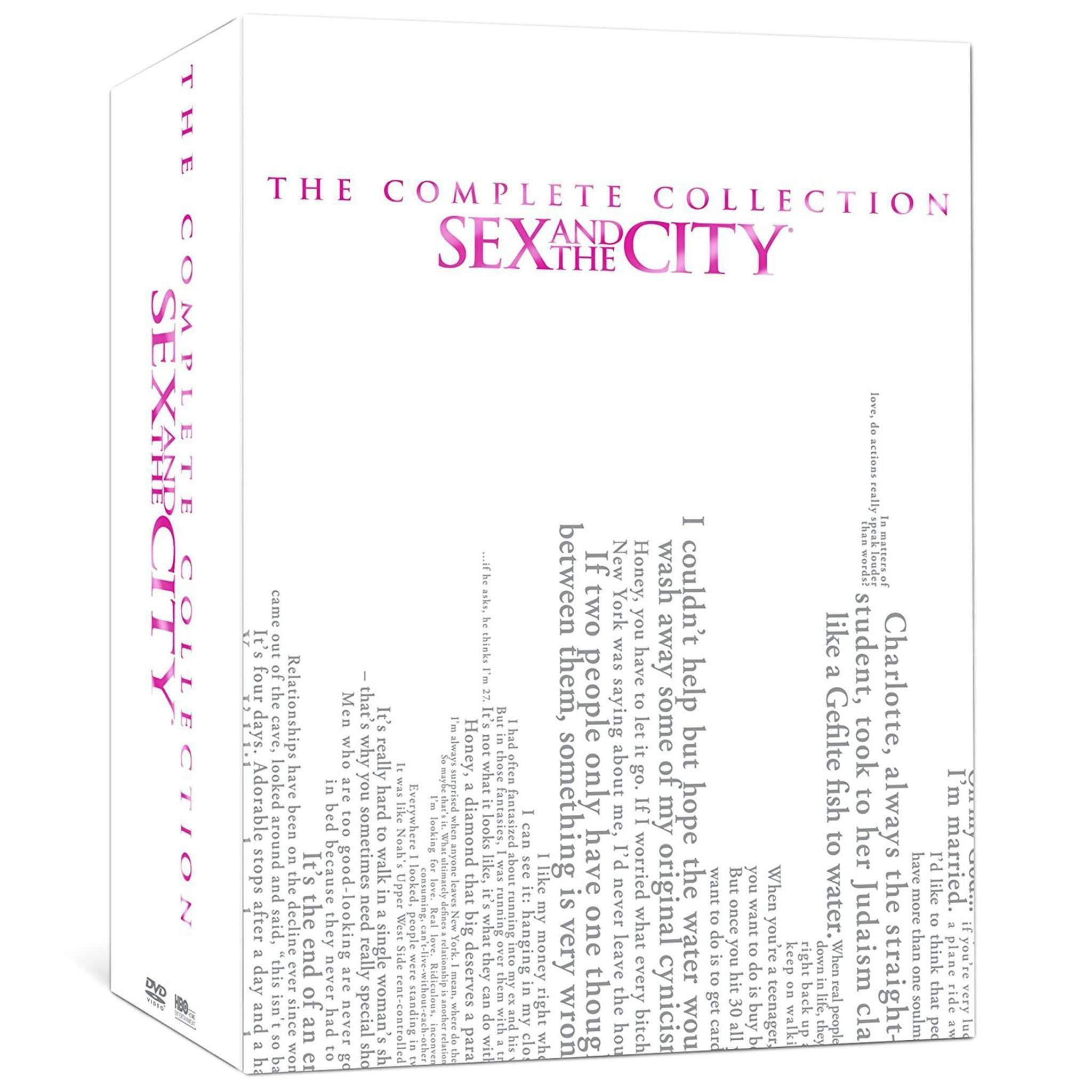 Sex and the City DVD Complete Series Box Set HBO DVDs & Blu-ray Discs > DVDs > Box Sets