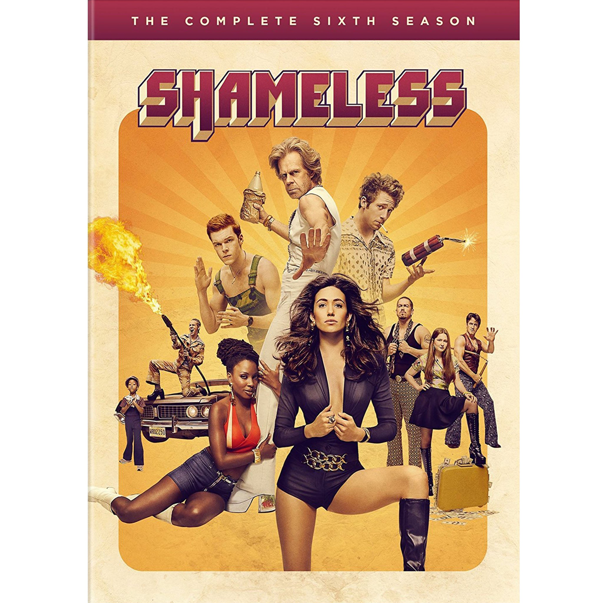 Shameless Season 6 (DVD) - DVDsHQ