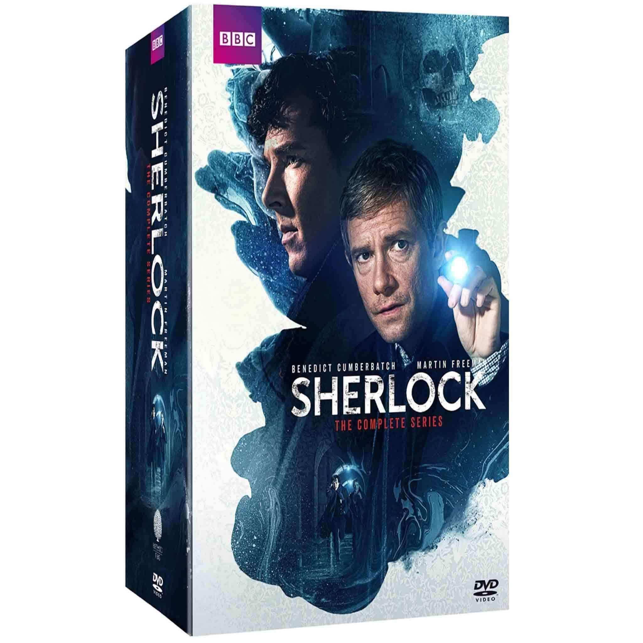Sherlock DVD Complete Series Box Set BBC America DVDs & Blu-ray Discs > DVDs > Box Sets