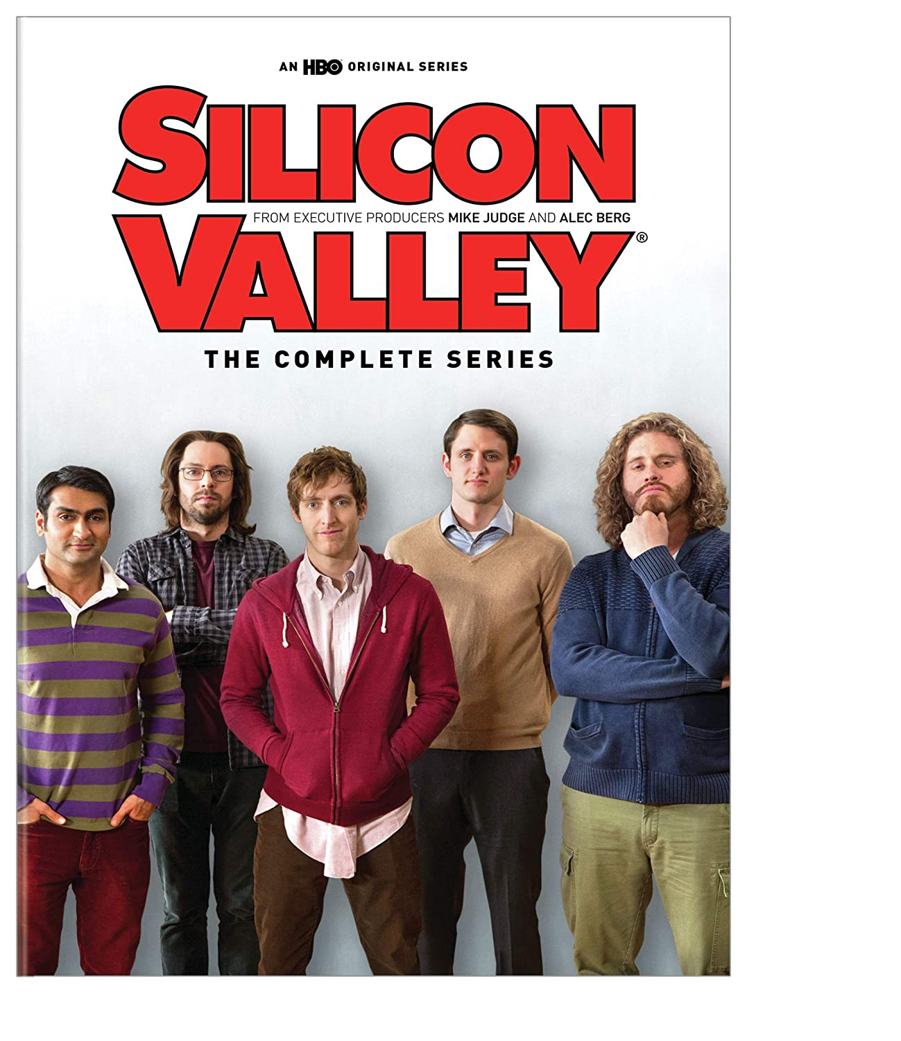 Silicon Valley DVD Seasons 1-4 Set HBO DVDs & Blu-ray Discs > DVDs