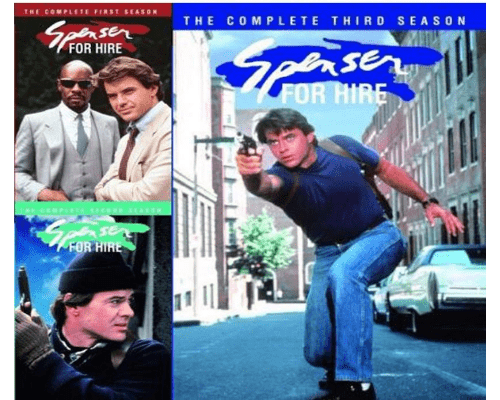Spenser For Hire TV Series Seasons 1-3 DVD Set ABC Studios DVDs & Blu-ray Discs > DVDs