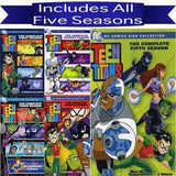 Teen Titans DVD Seasons 1-5 Set Warner Brothers DVDs & Blu-ray Discs