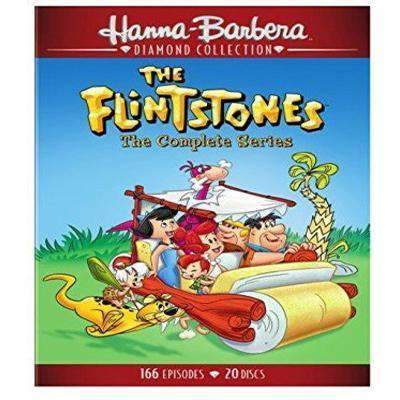 The Flintstones DVD Complete Series Box Set Warner Brothers DVDs & Blu-ray Discs > DVDs > Box Sets
