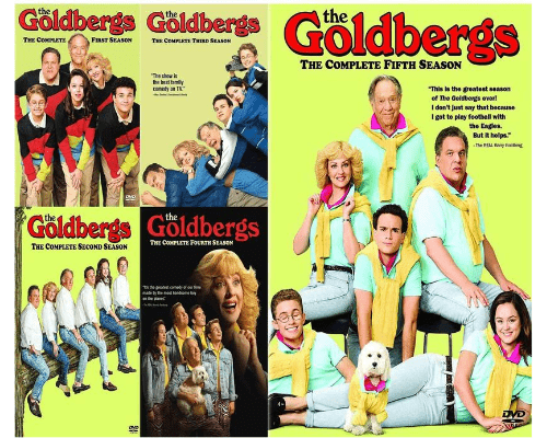 The Goldbergs TV Series Seasons 1-5 DVD Set Sony DVDs & Blu-ray Discs > DVDs