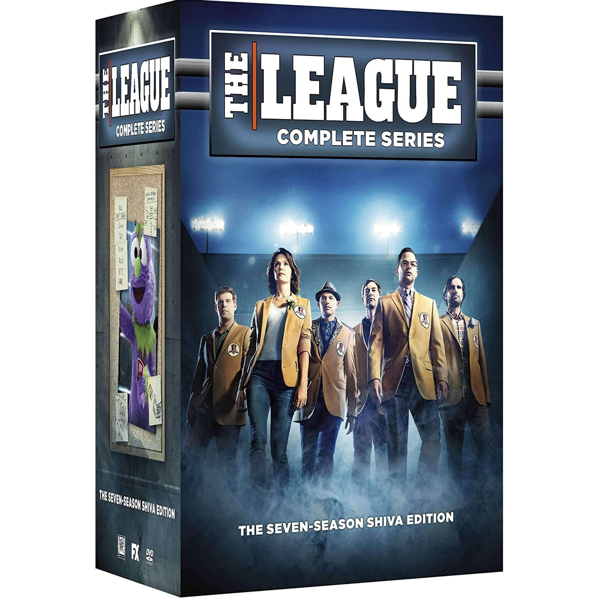 The League DVD Complete Series Box Set - DVDsHQ