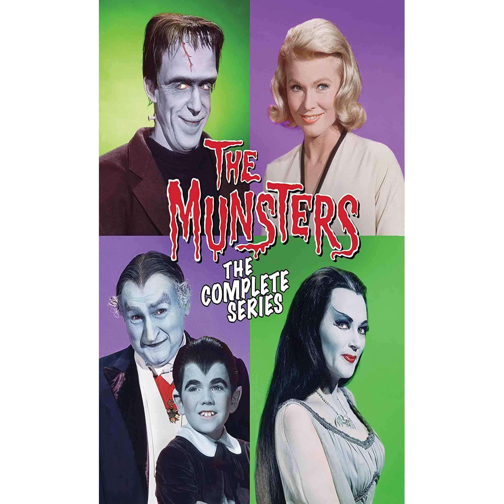 The Munsters DVD Complete Series Box Set Universal Studios DVDs & Blu-ray Discs > DVDs > Box Sets