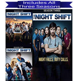 The Night Shift DVD Seasons 1-3 Set SPE DVDs & Blu-ray Discs > DVDs