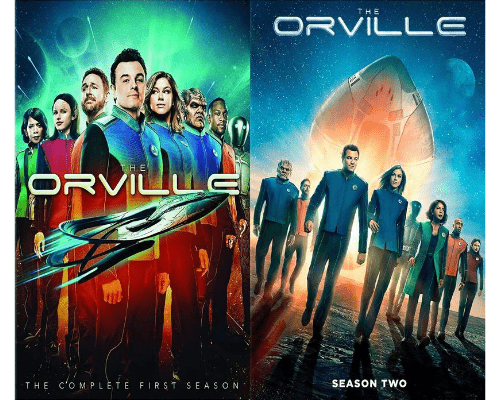 The Orville TV Series Seasons 1 & 2 DVD Set 20th Century Fox DVDs & Blu-ray Discs