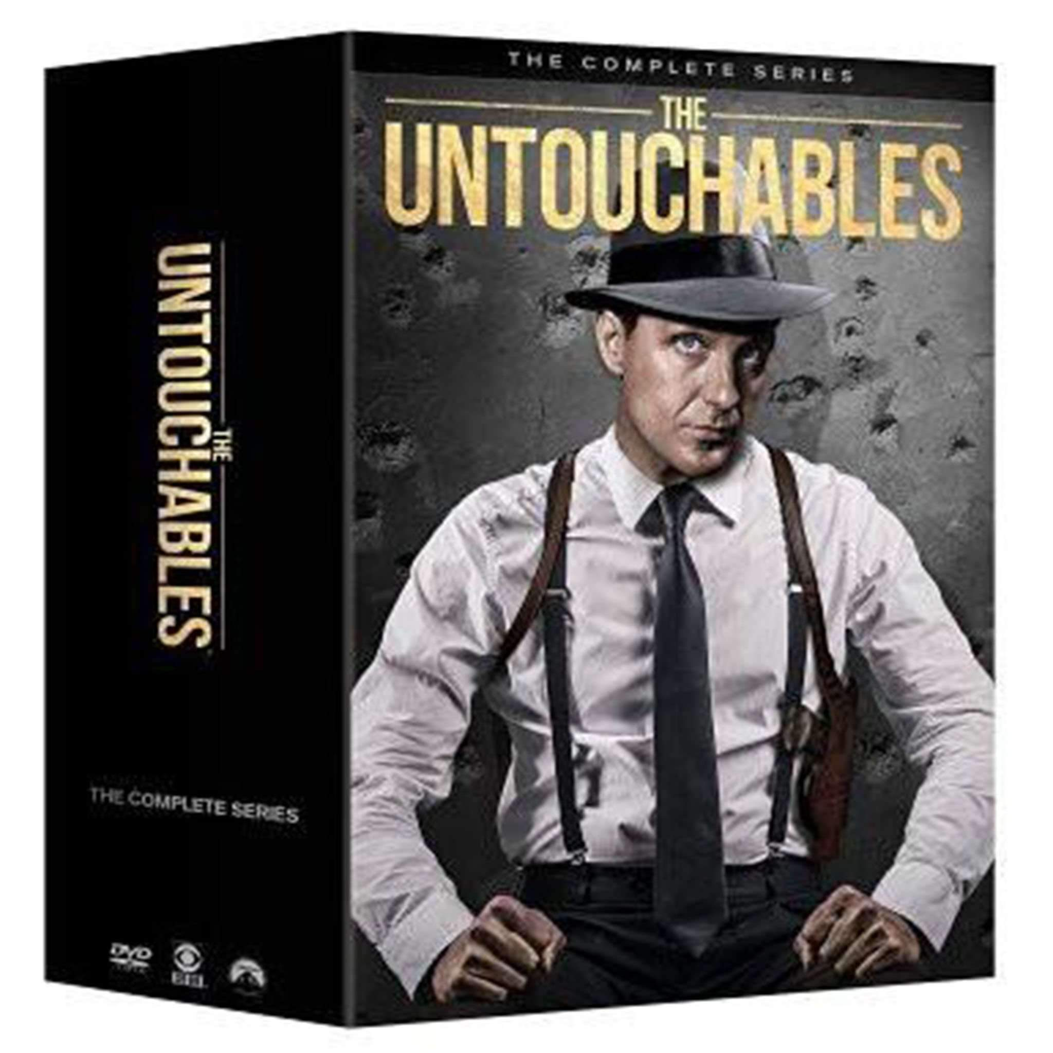The Untouchables: The Complete Series (DVD) - DVDsHQ