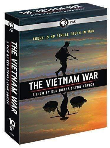 The Vietnam War: A Film by Ken Burns & Lynn Novick - The Complete 18hrs PBS DVDs & Blu-ray Discs