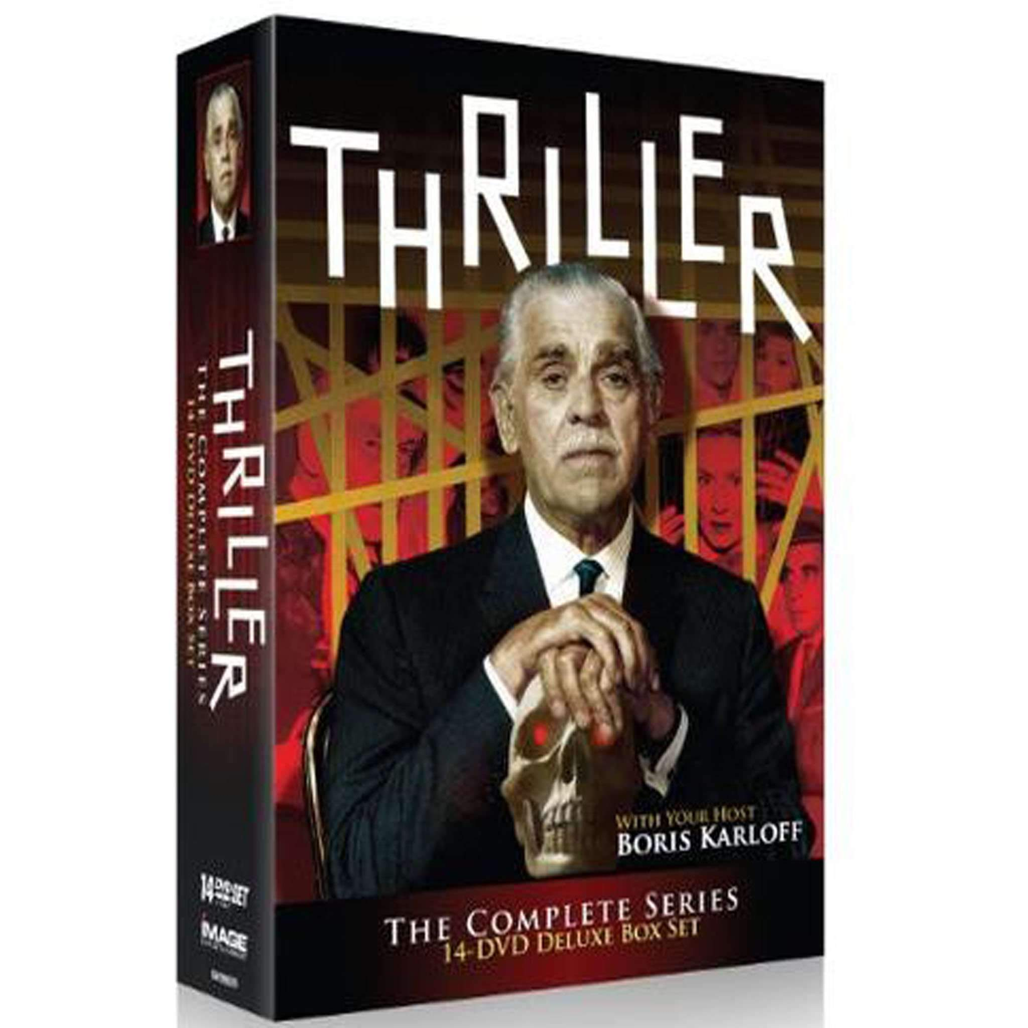 Thriller: The Complete Series (2010, 14-Disc Set) (DVD) NBC Universal DVDs & Blu-ray Discs > DVDs > Box Sets