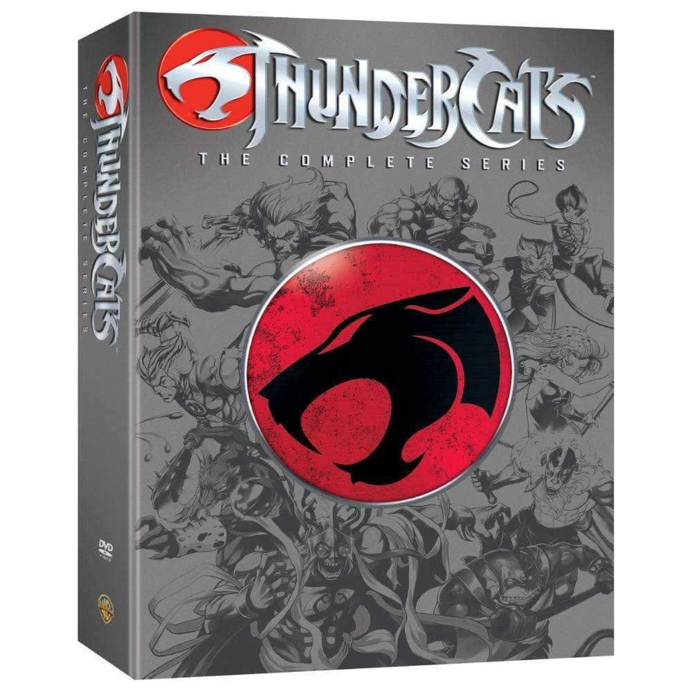 Thundercats Complete Series On DVD Warner Brothers DVDs & Blu-ray Discs